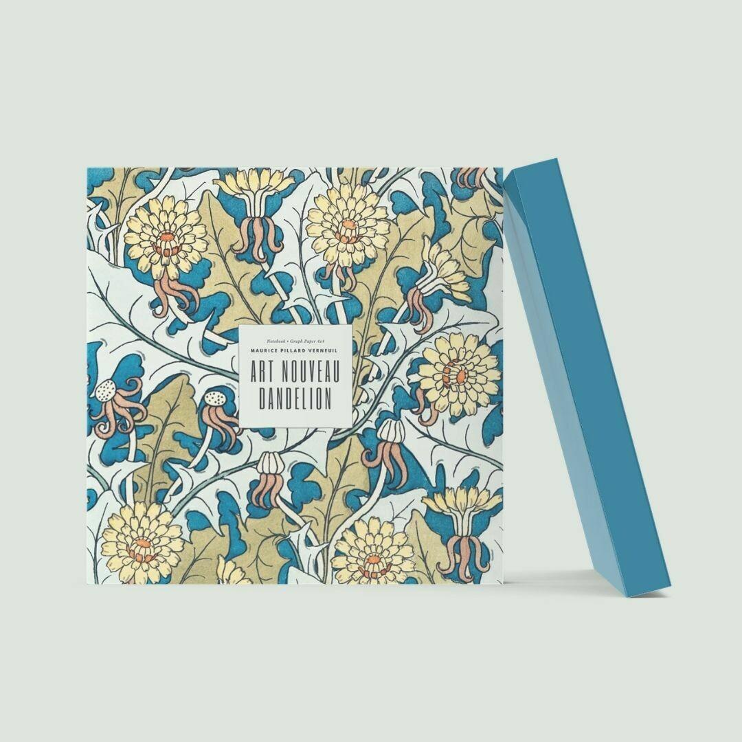 Art Nouveau Danelion: Maurice Pillard Verneuil Notebook