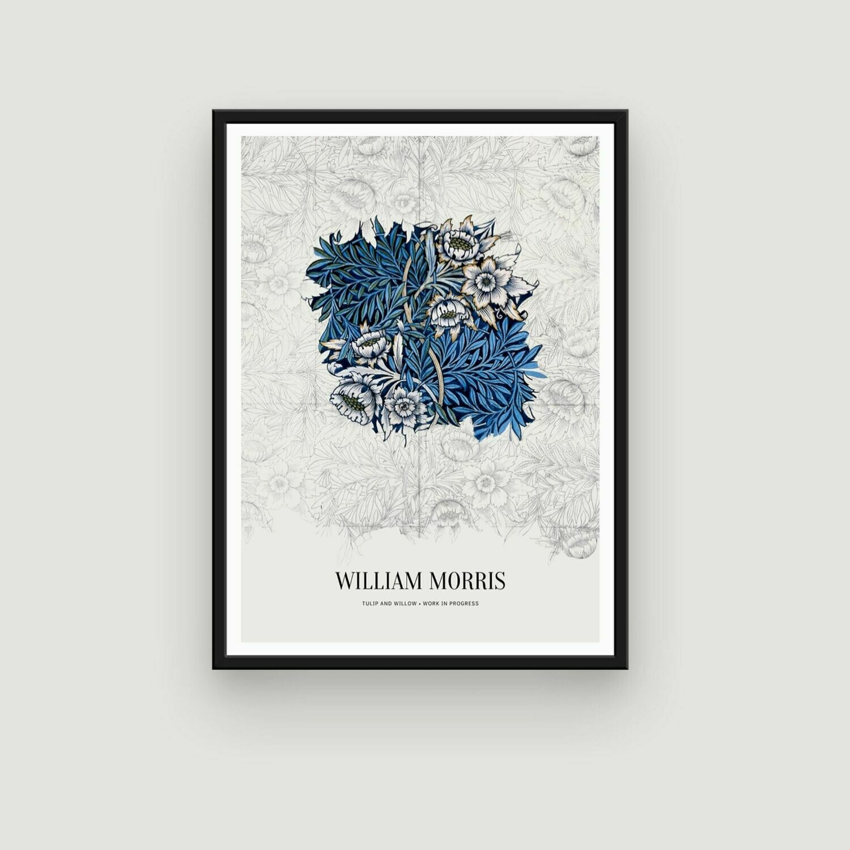 Tulip and Willow - William Morris' Work in Progress