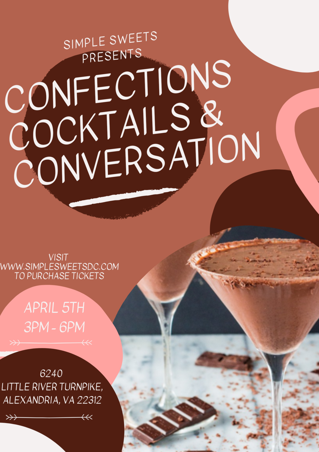 Confections, Cocktails and Conversation - Singles