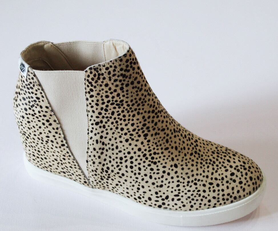 Cheetah Pony Hair Sneaker