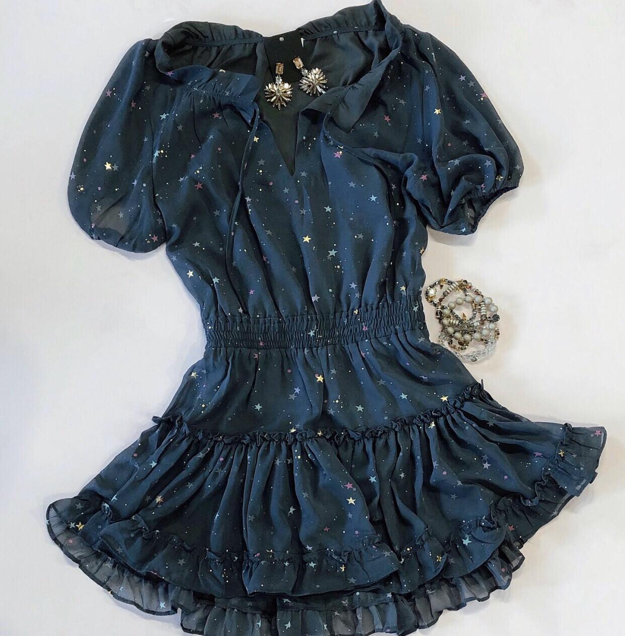 Buddy Love Short Sleeve Star Dress