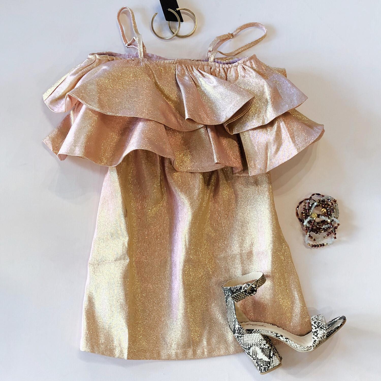 Buddy Love Rose Shimmer Dress