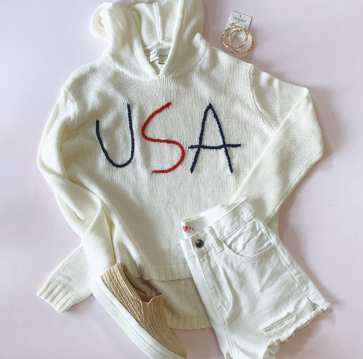 USA Beach Sweater