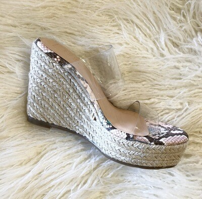 Clear Python Wedge