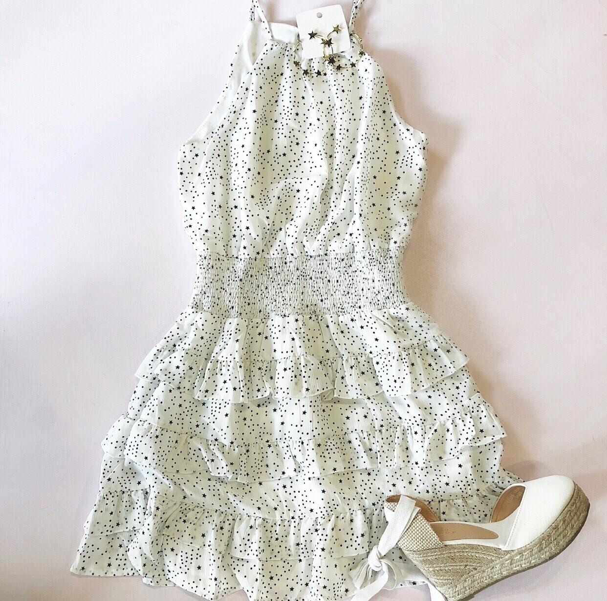 Pleated Star Dress