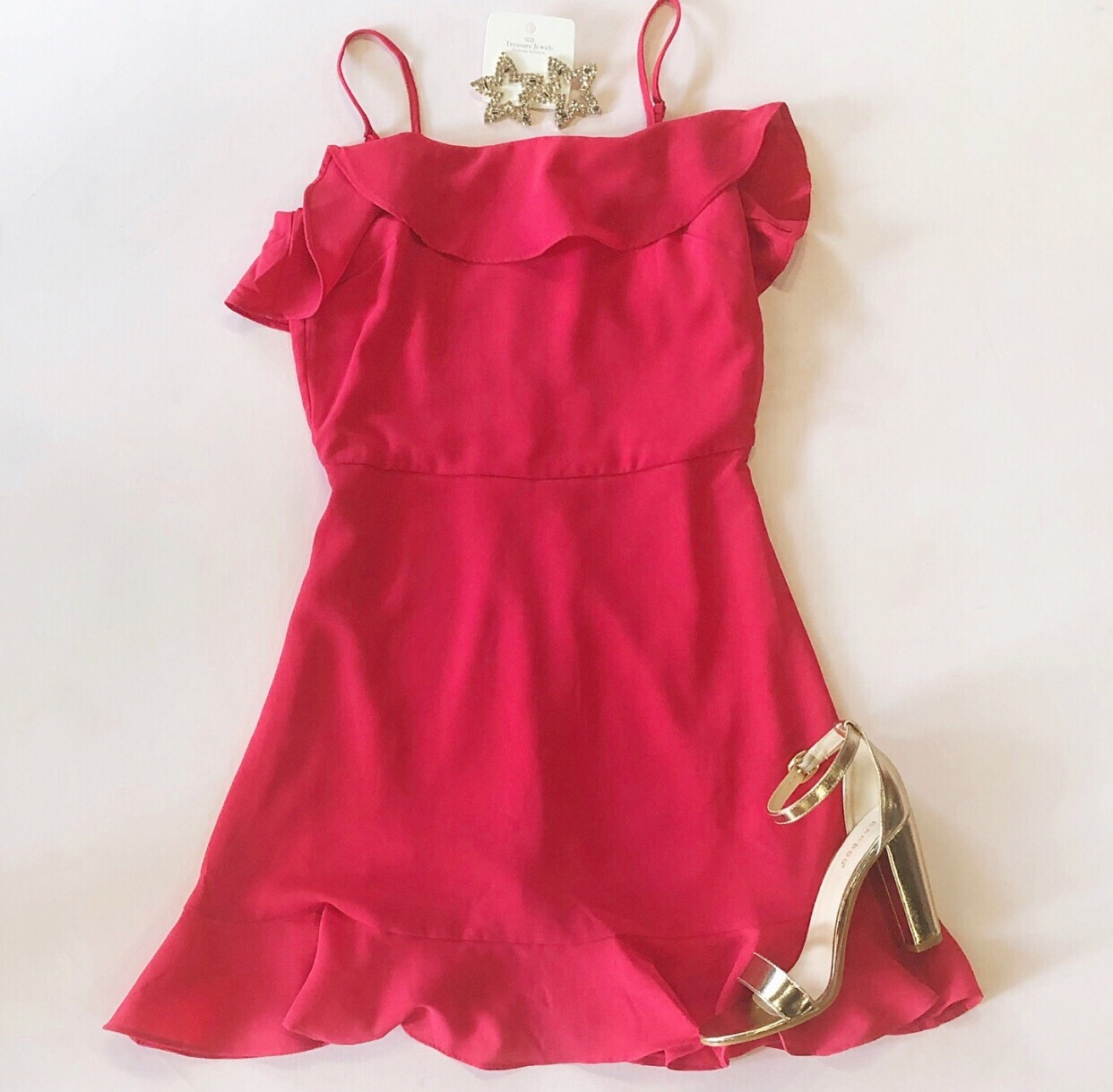 Strawberry Cami Dress