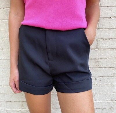 Tailored Black Short