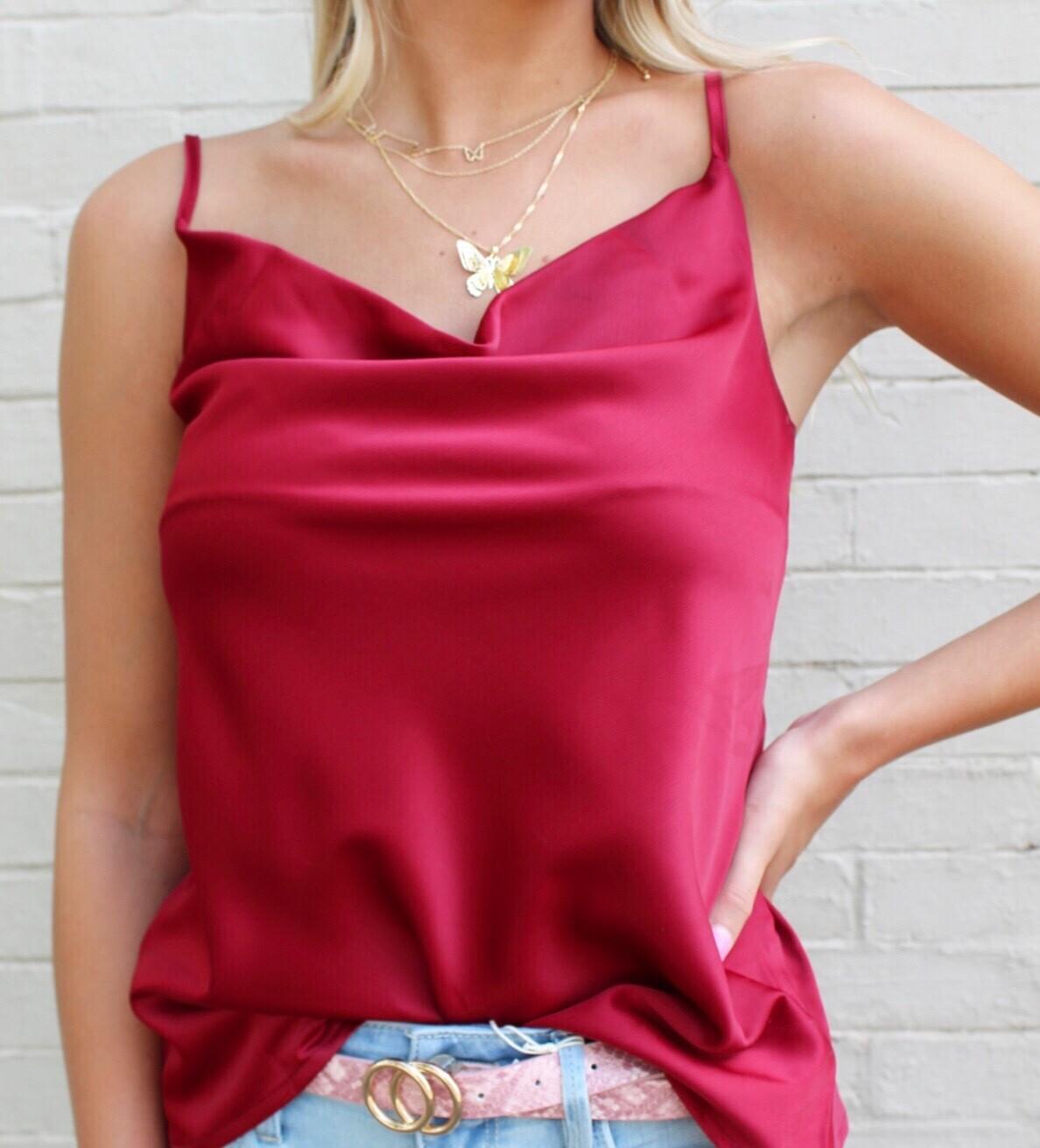 Crimson Cami