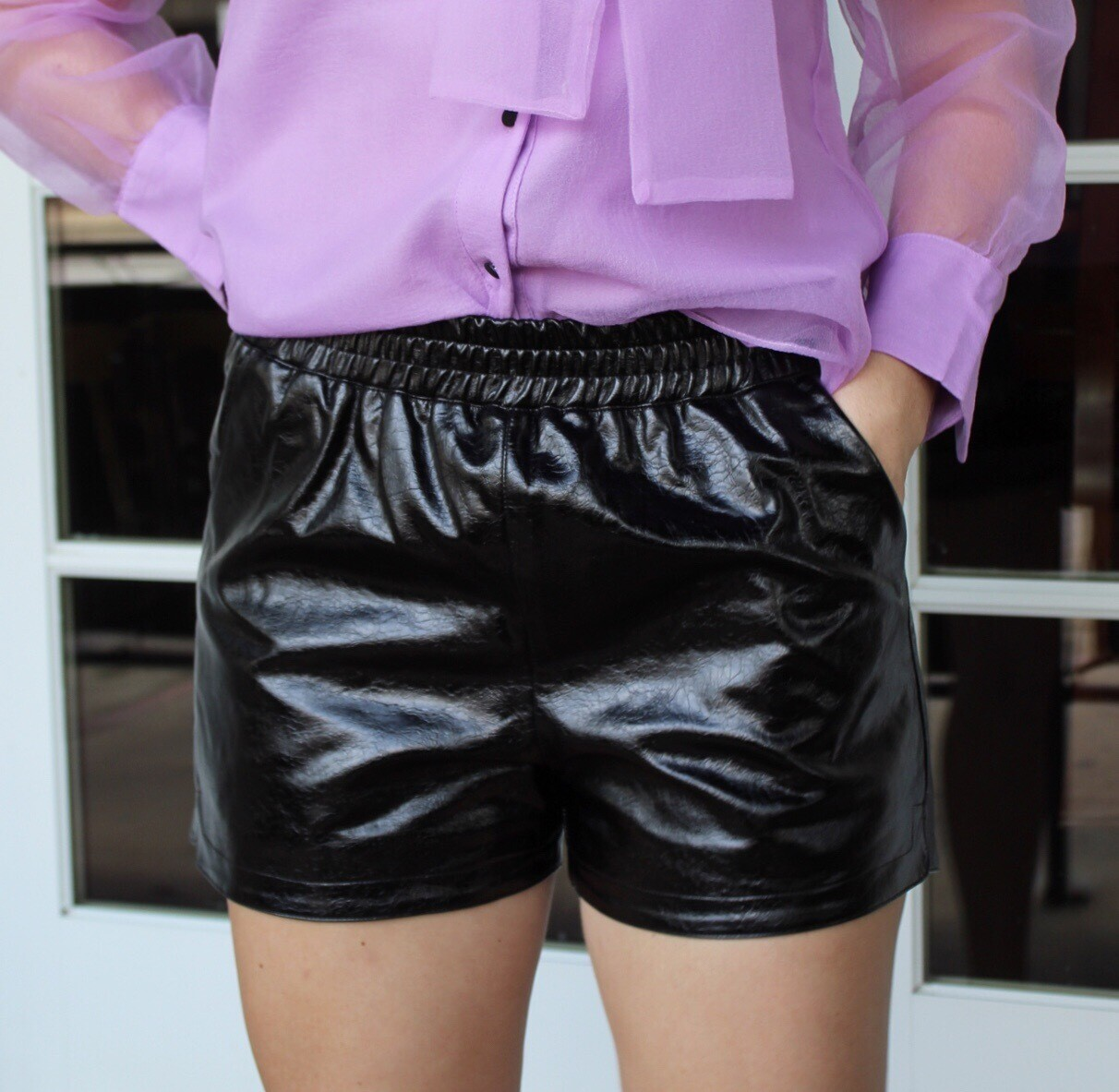 Patent Leather Short