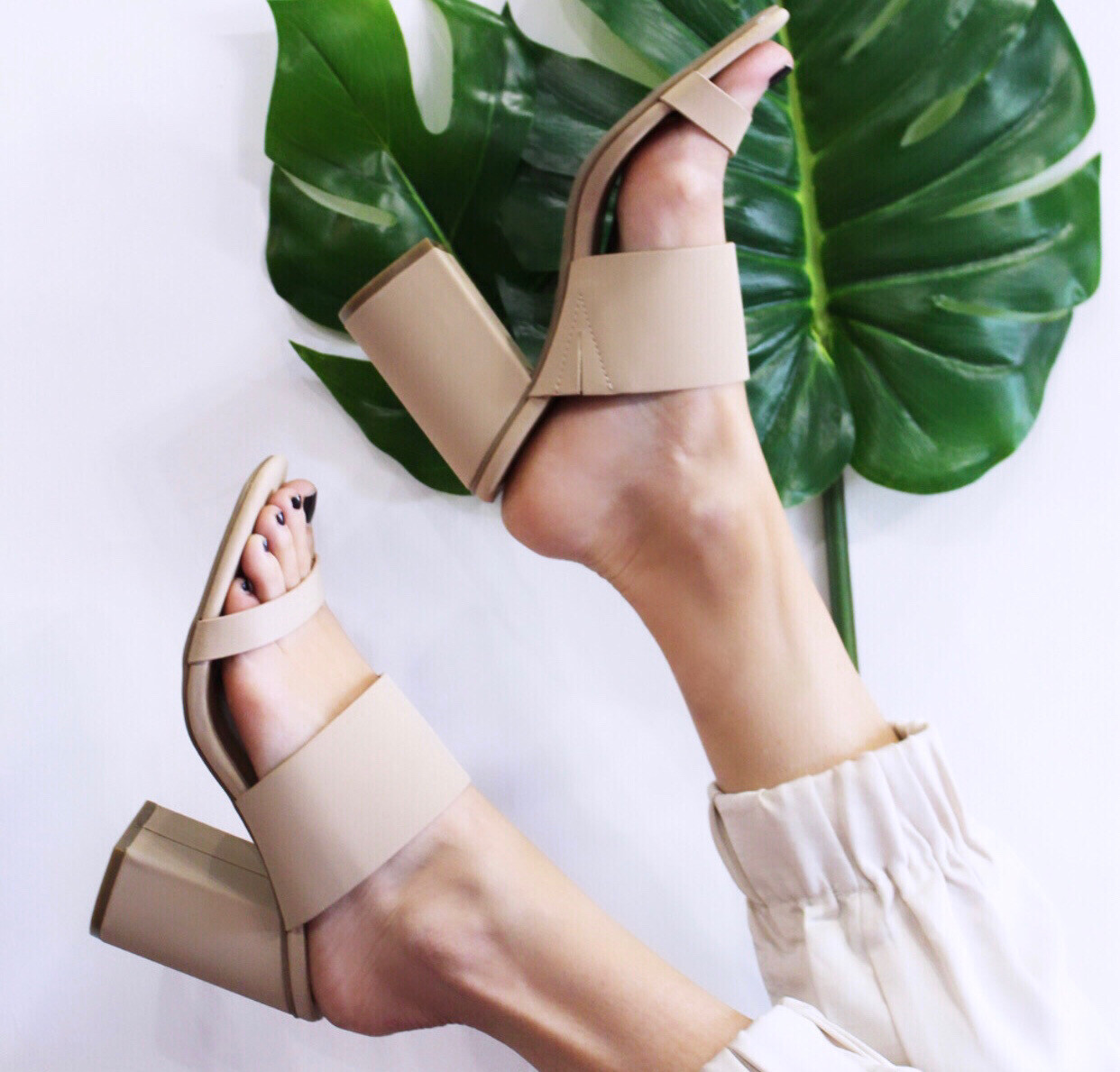Perfect Nude Mule