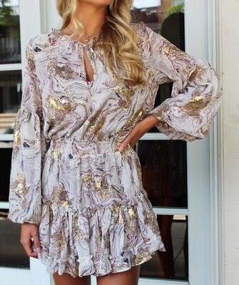 Zozo Marble Dress