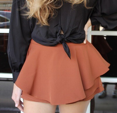 Toffee Layered Skort