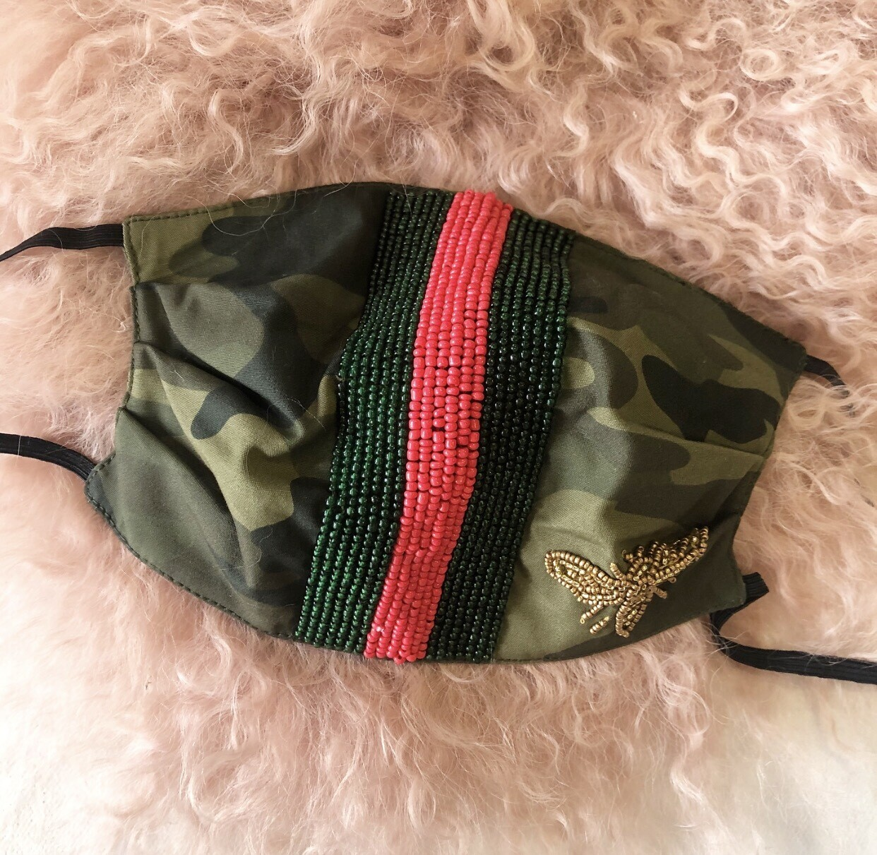 Preorder Red Gucci Dupe Mask |Ships In 3-4 Weeks|