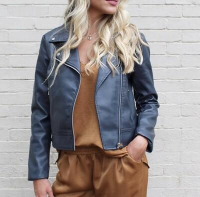 Slate Moto Jacket