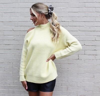 Lemon Custard Sweater
