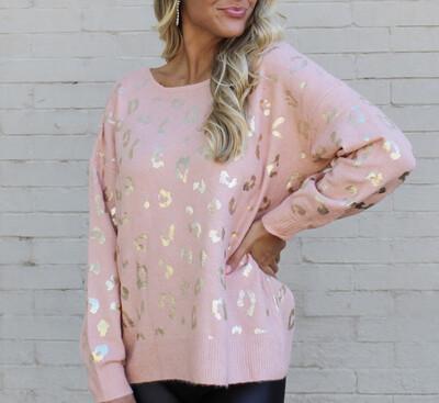 Gold Foil Sweater