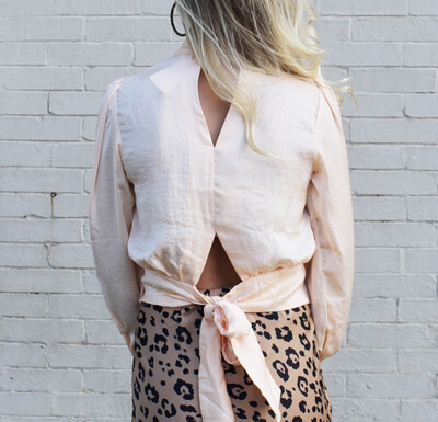 Just Peachy Blouse