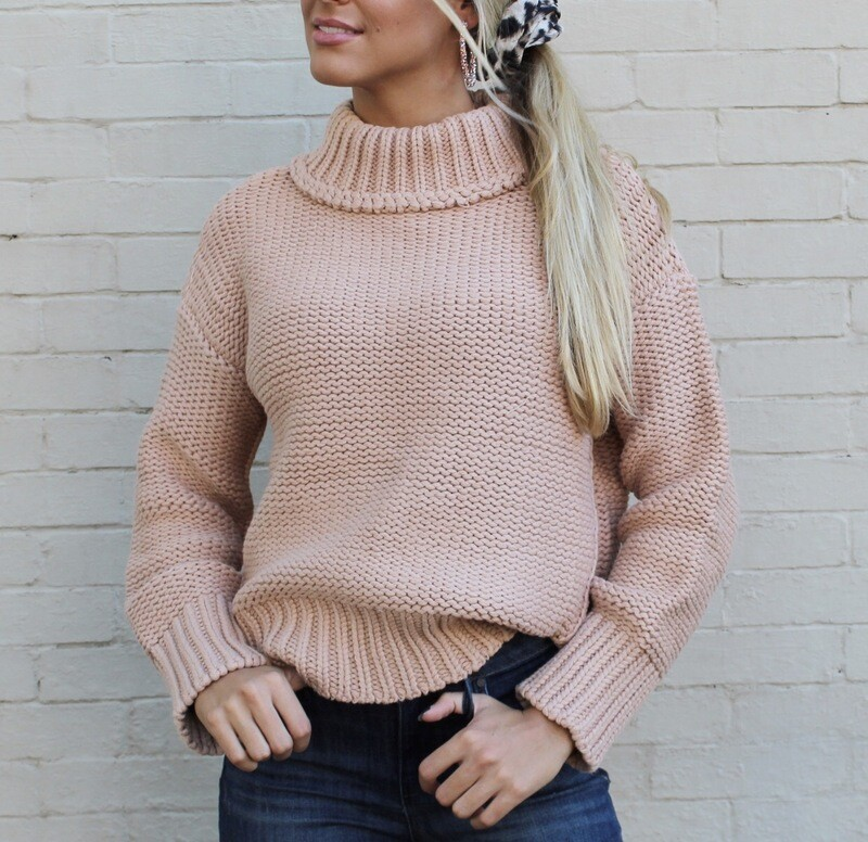 Caramel Knit Sweater