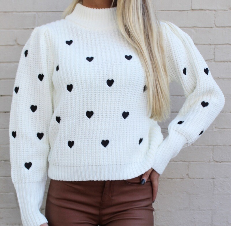 Queen Of Hearts Sweater