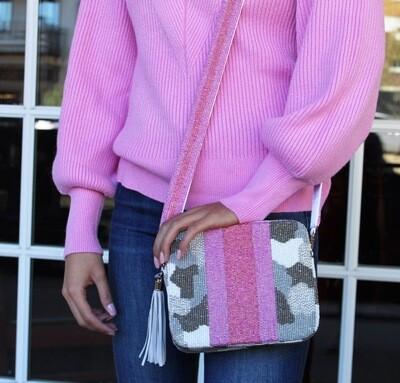 Preorder Pink Camo Crossbody |Ships In 3-4 Weeks|