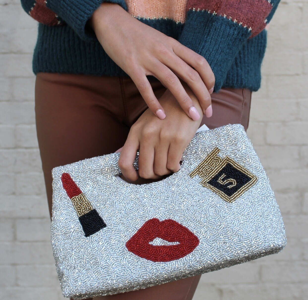 Preorder #5 Beaded Clutch 3-4 Weeks