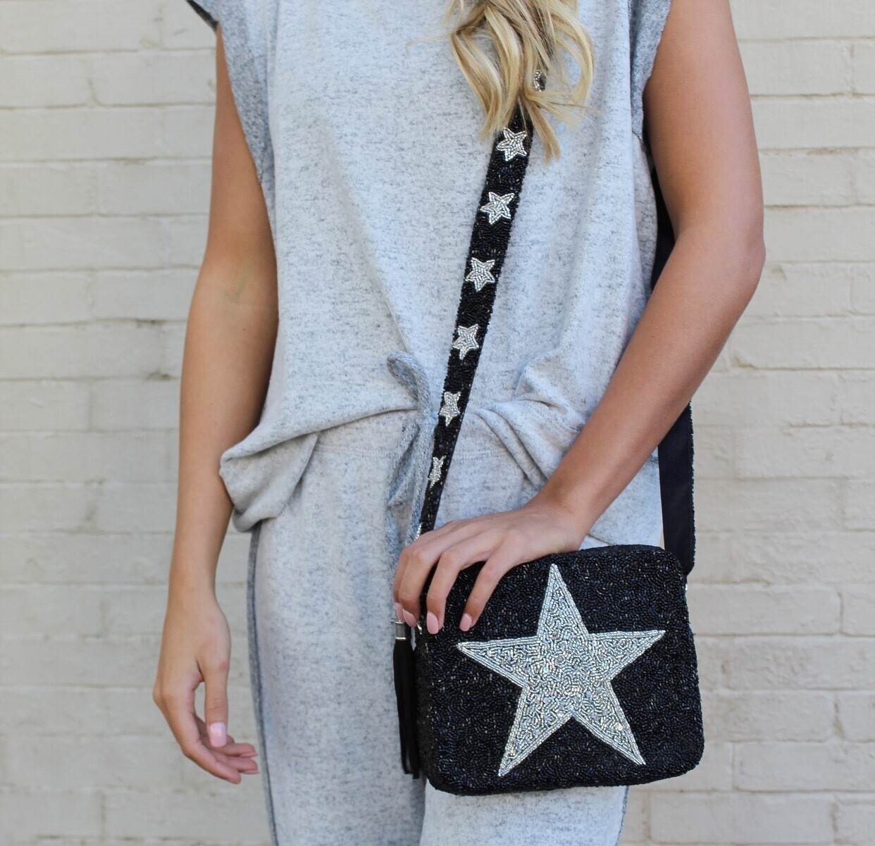 Preorder Black Star Crossbody 3-4 Weeks