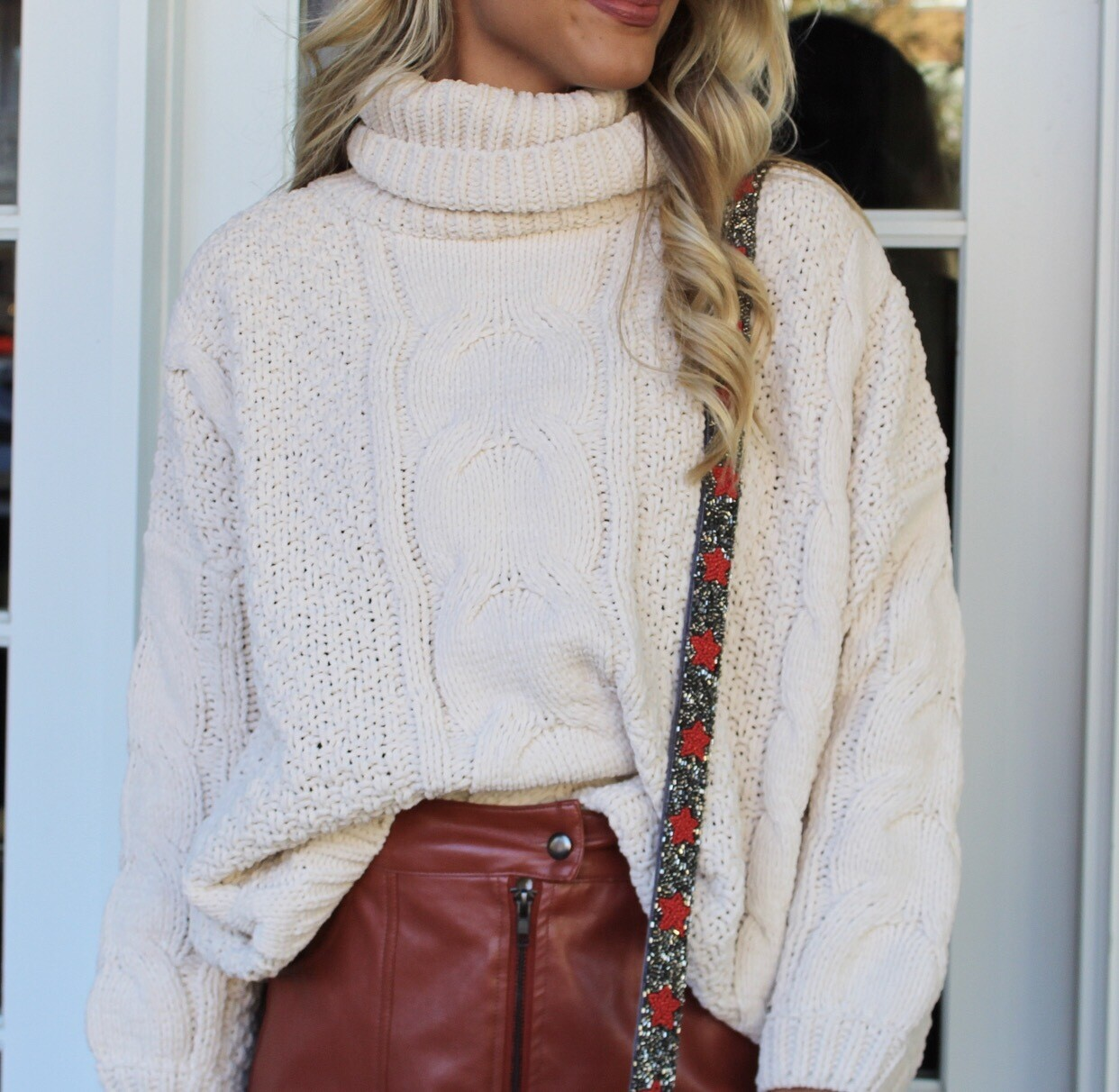 Cozy Cable Knit Sweater