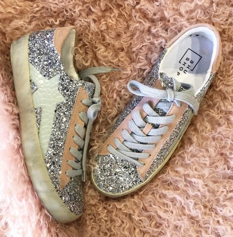 Pastel Glitter Sneaker