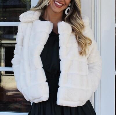 Blank NYC Faux Fur