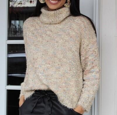 Pastel Tinsel Sweater