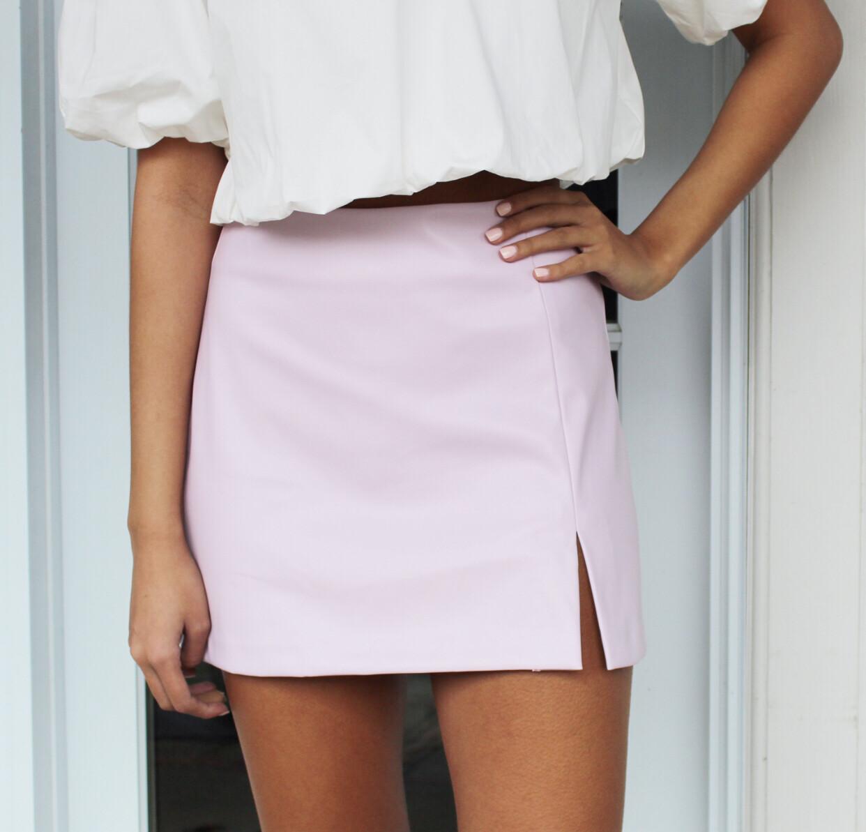 Lavender Leather Mini