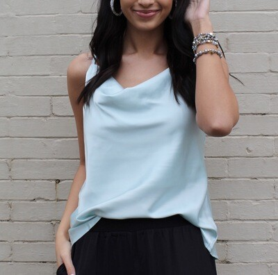 Mint To Be Silky Cami