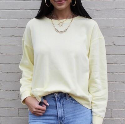 Lemon Custard Sweatshirt