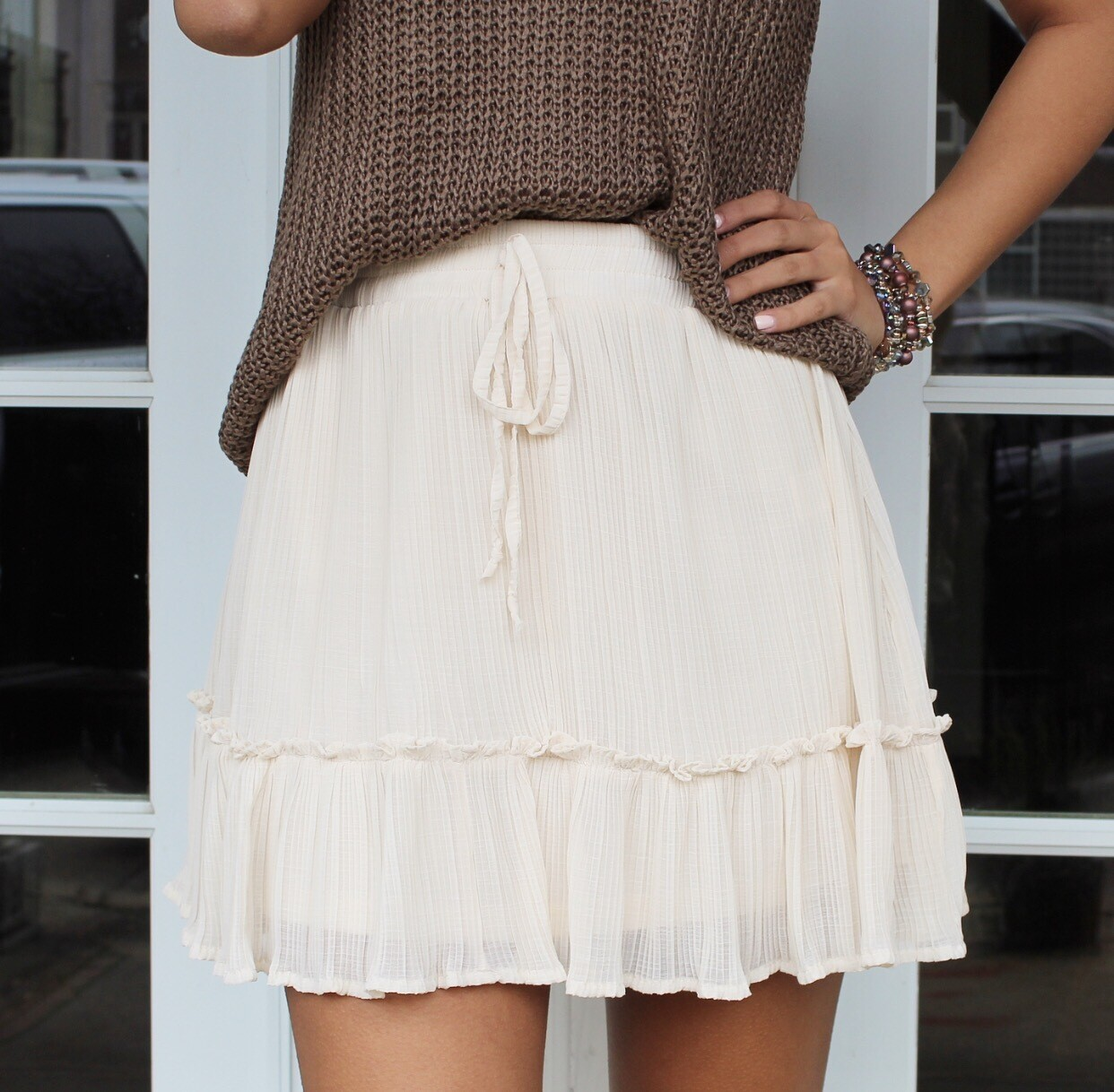 Vanilla Flirt Skirt