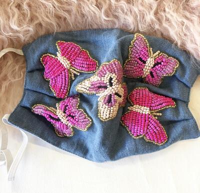 Preorder Butterfly Garden Mask| Ships In 3-4 Weeks|