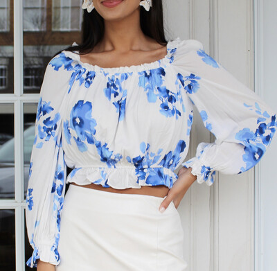 Capri Bouquet Top