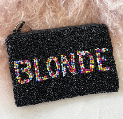 BLONDE Coin Purse