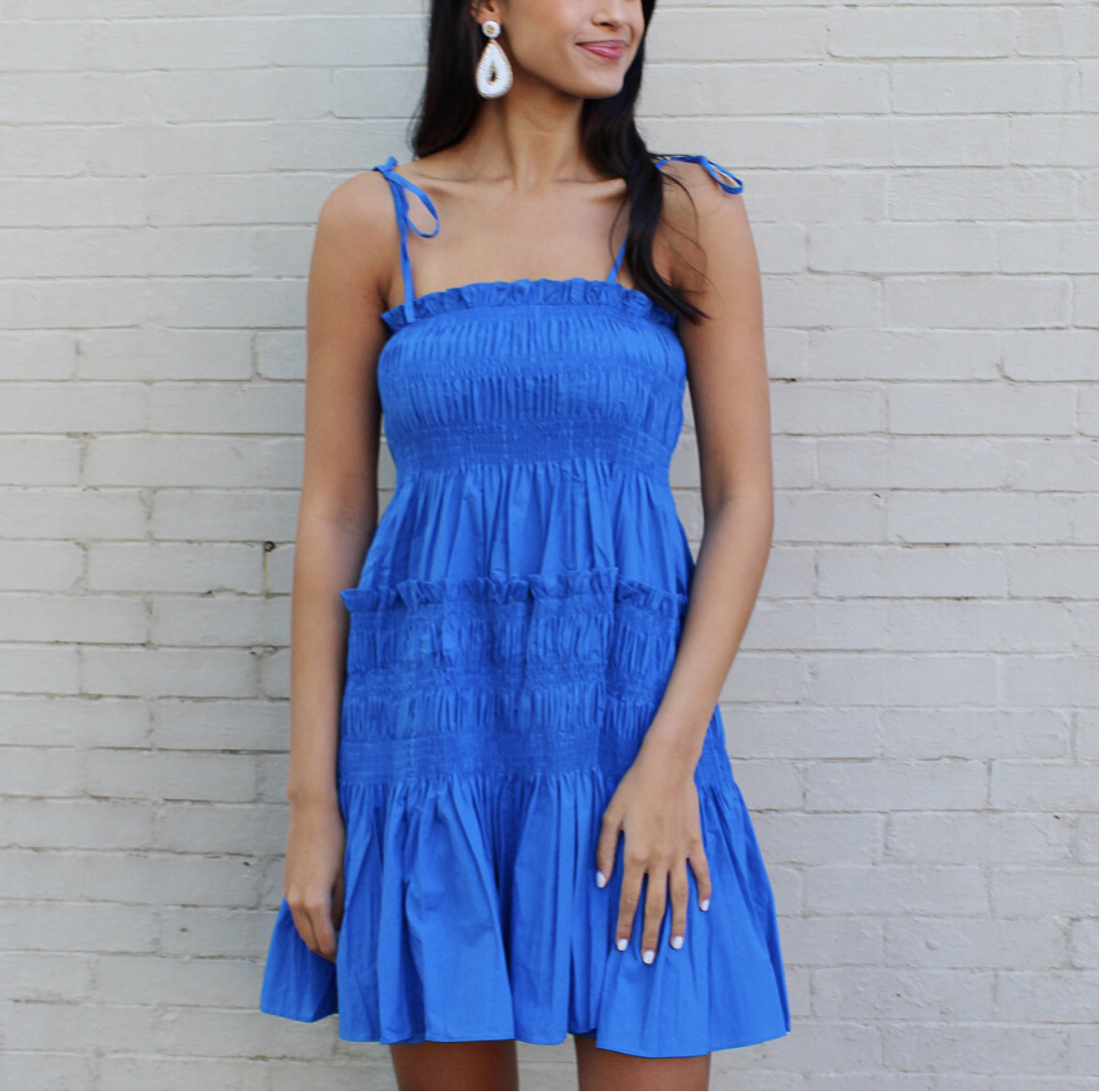 Cerulean Midi Dress