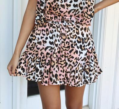 Dreamsicle Ruffle Skirt