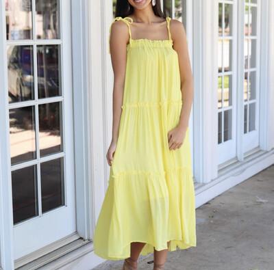 Pineapple Kiss Maxi Dress