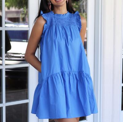Cornflower Pocket Dress