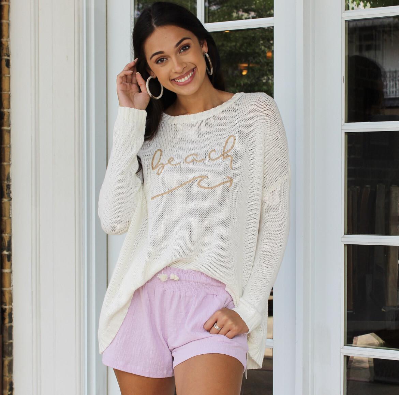 Beachin Summer Sweater