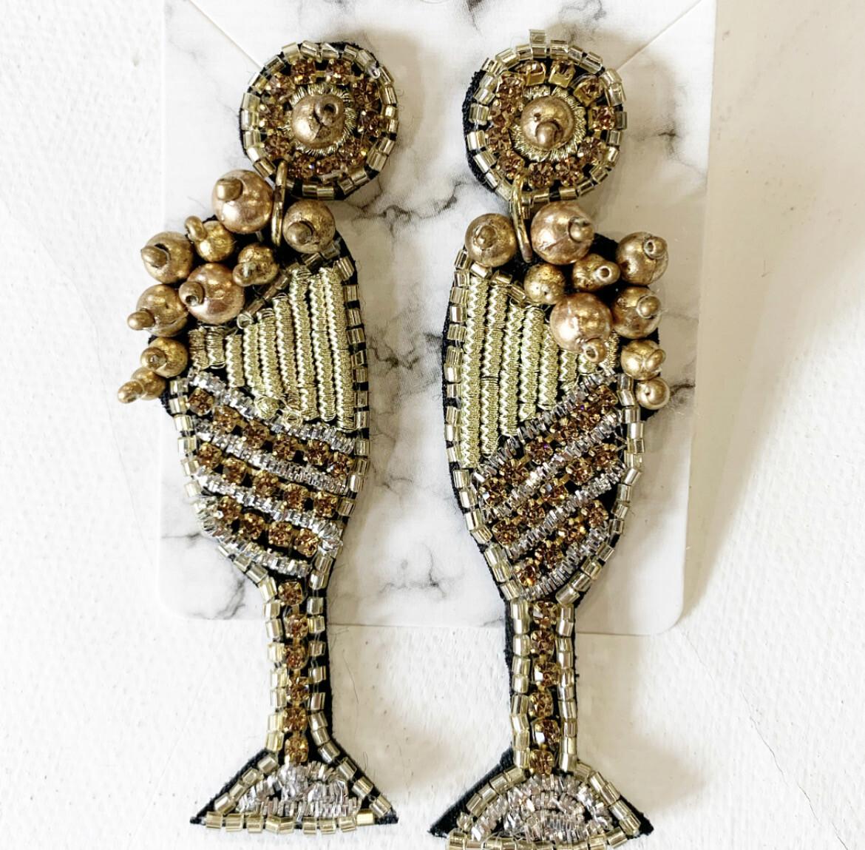Bubbly Flute Earrings