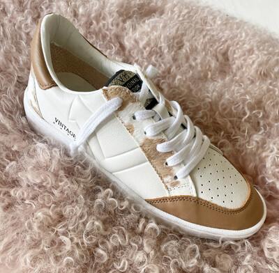 Camel Leather Sneaker