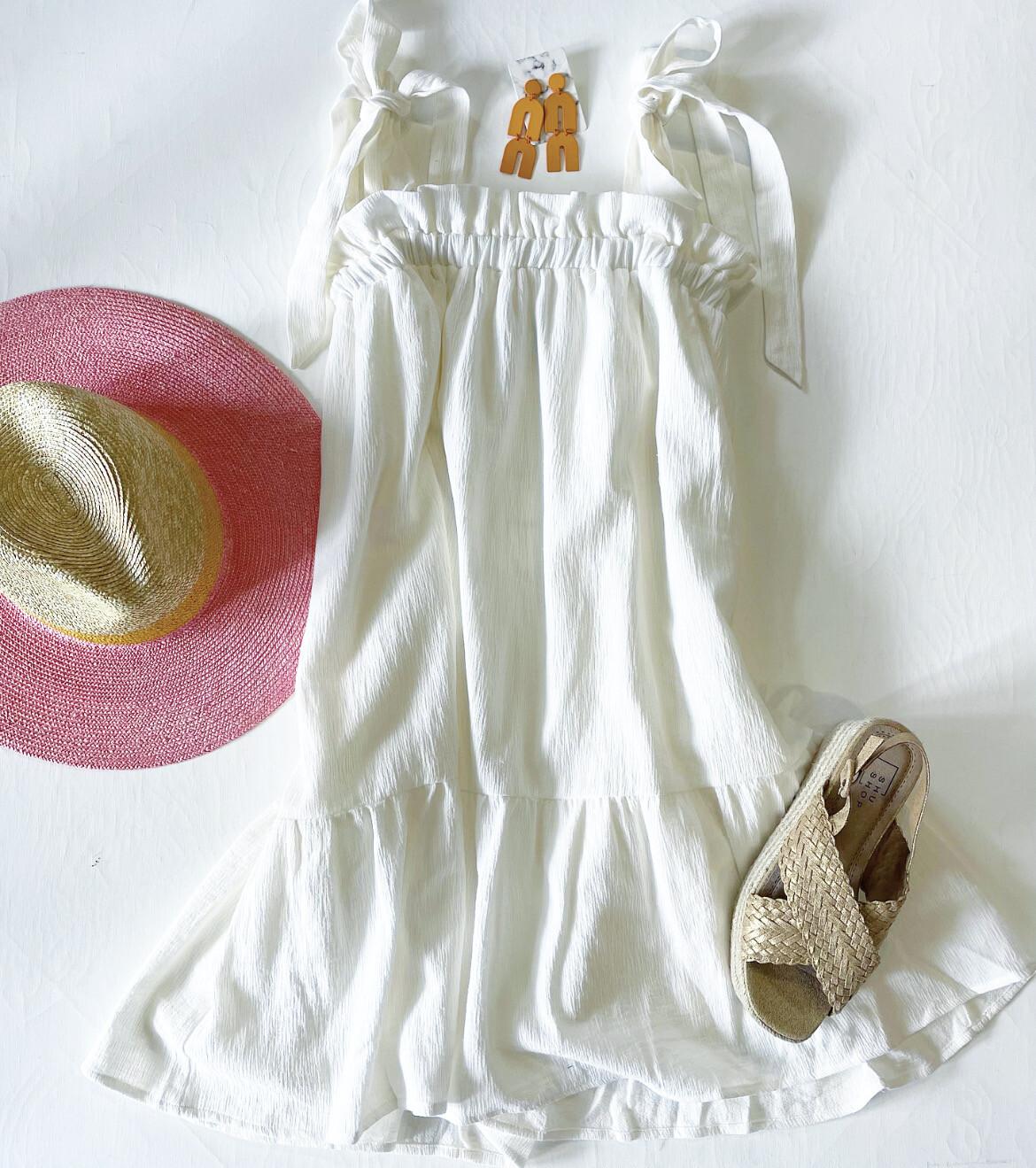 Seaside Gauze Dress
