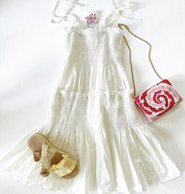 Smocked Beach Dress