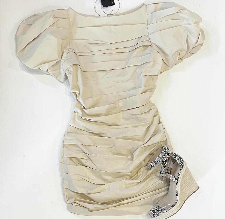 Beige Touché' Dress