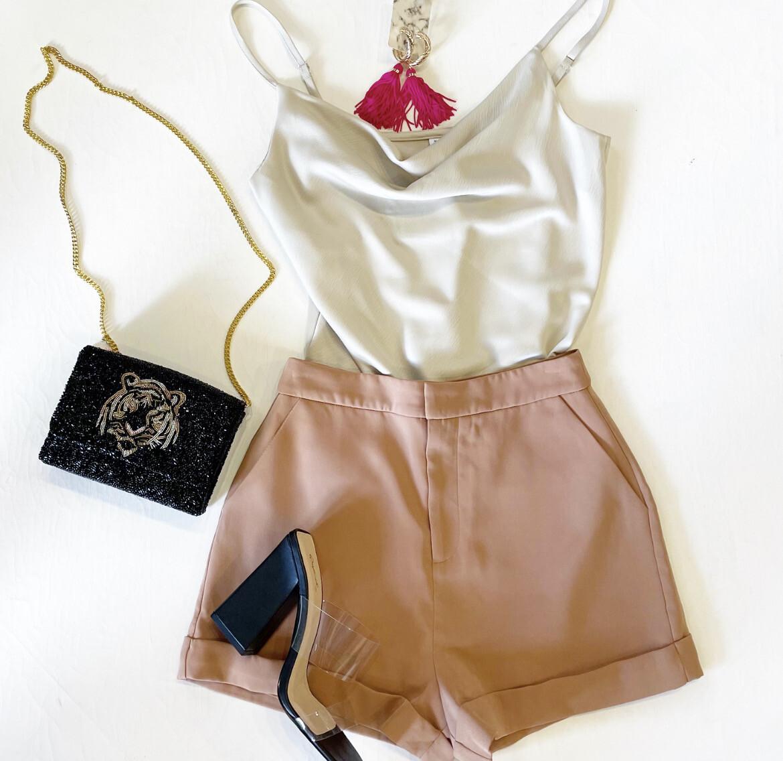 Perfect Camel Dress Short
