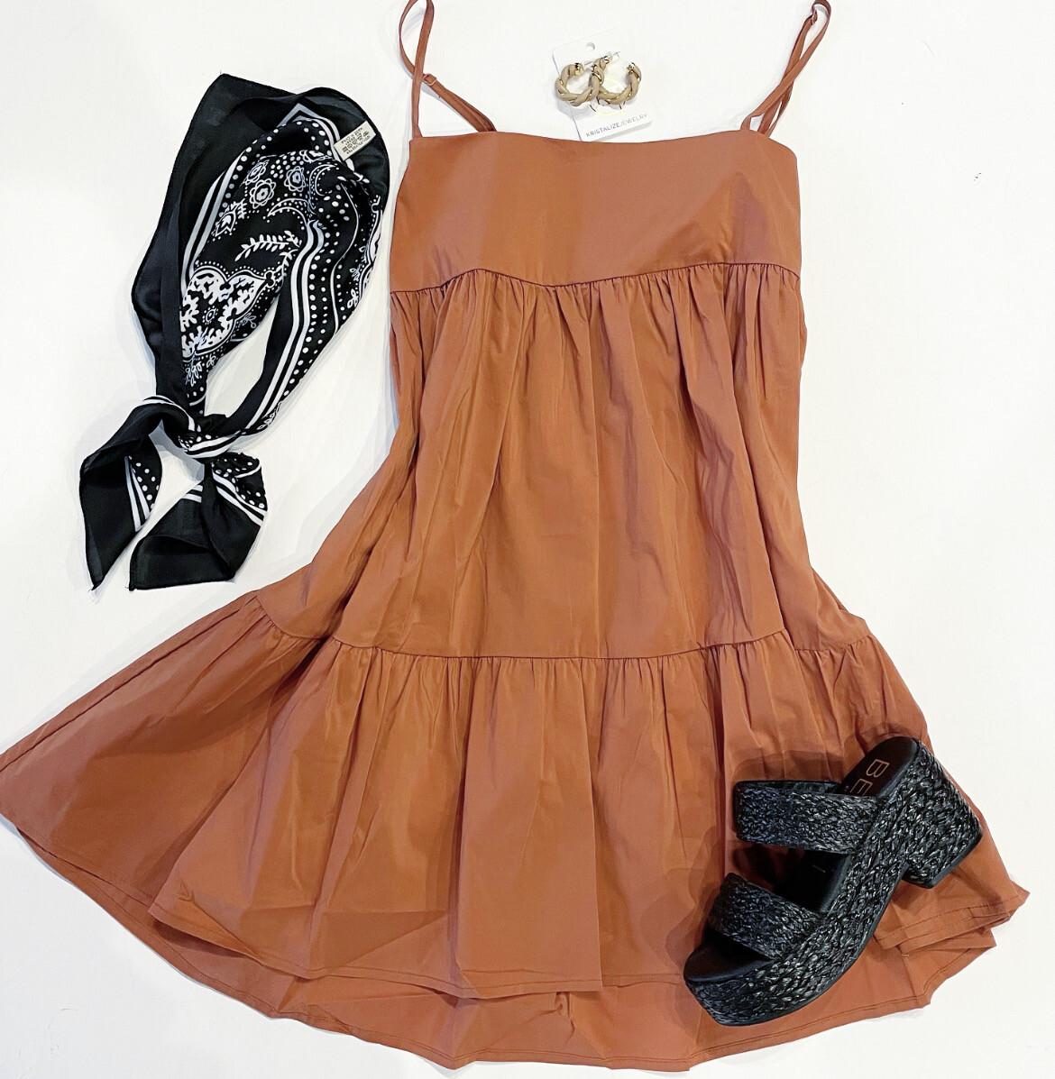 Clay Swing Dress