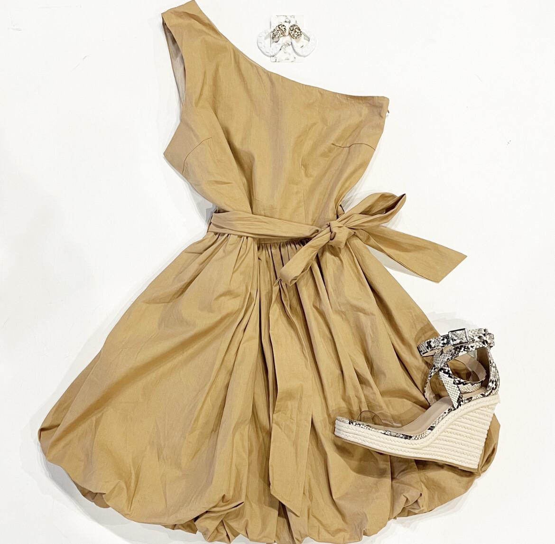 One Shoulder Bubble Dress